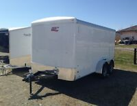 Canadian Hauler Enclosed Trailers - In Stock