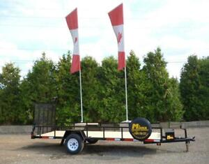 ATV Trailers from Miska Trailer Factory