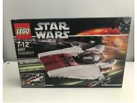 Lego Star Wars A-wing Fighter, brand new in sealed box