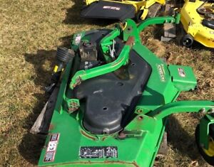 "John Deere 62"" Commercial Mowing Attachments"