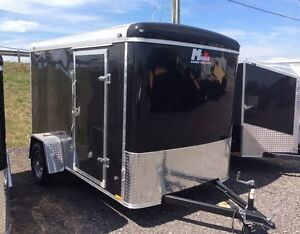 Miska Liberty SLT 6'x12' Enclosed Trailer