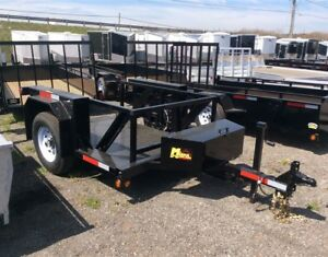 5'x8' Drop Deck Trailer by Miska