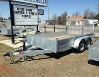 Duratrail 6' x 12' Landscape Trailer - Built to Last!