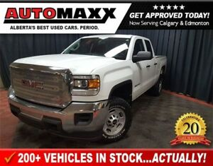 2015 GMC SIERRA 2500HD WT Double Cab 4x4! 6.0L