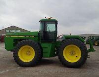 1990 John Deere 8560 4WD Articulating Tractor