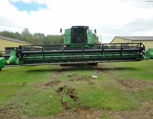 2009 John Deere 630F Flex Head