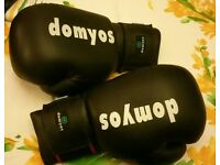 Boxing gloves, leather, brand new