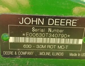 2008 John Deere 630 Mower Conditioner