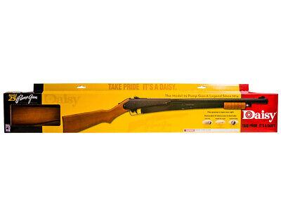 Daisy Outdoor Model 25 Pump-Action BB Gun 350 fps - Brown/Black - (Daisy Model 25 Pump Action Bb Gun)