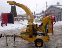 2009 Vermeer BC600XL Wood Chipper