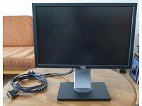 """Dell P1911B 19"""" LCD Monitor"""