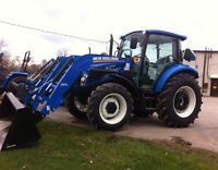 New Holland Powerstar 4.75 Tractor with Cab