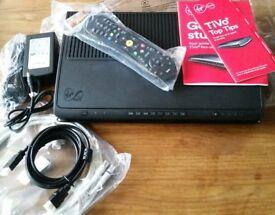 Virgin Media TiVo box 500gb hard drive. Cisco CT 8620. New still in packaging. never used.