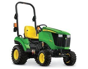 2018 John Deere 1023E Sub-Compact Utility Tractor