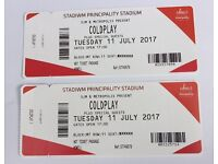 Coldplay VIP HOT Seated Tickets x 2 (Cardiff 11th July) excellent seats