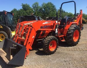 2011 Kioti DS4510 Tractor Loader Backhoe