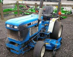 1993 Ford 1220 Compact Tractor