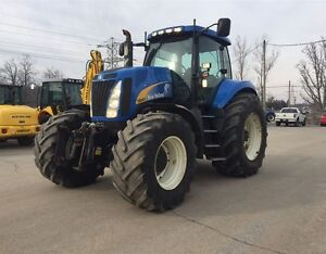 2010 New Holland T8040 4WD Tractor