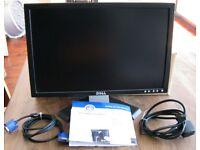 """Dell E198WFP 19"""" PC Monitor"""