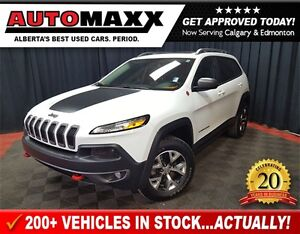 2015 Jeep Cherokee Trailhawk w/Leather/Pano Roof!