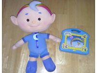 Cloudbabies Musical TV Toy & Baba Blue Plush Soft Toy