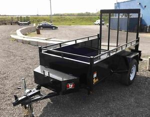 4'x8' Landscape Utility Trailer - Loaded Contracto