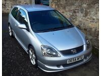 2005 (54 plate ) HONDA CIVIC 1600 SPORT COUPE ( TYPE R LOOKS )