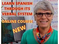 LEARN SPANISH THROUGH ITS VERBAL SYSTEM - ONLINE COURSE - GCSE-DELE - PRIVATE NATIVE TEACHER-LESSONS