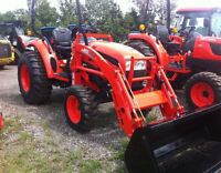 2014 Kioti CK30 HST 4WD Tractor with Loader