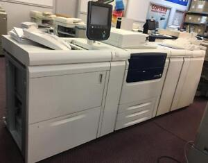 Xerox Color C75 J75 Press Production Printer Copy Machine High Quality Fast photocopier Booklet Maker Finisher