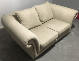 Large 2 seater sofa in Oatmeal from Next - Excellent conditions - rarely used.