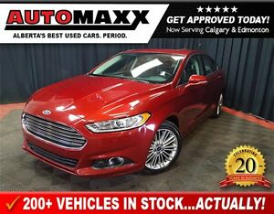 2016 Ford Fusion SE AWD w/Leather/Sunroof/Nav!