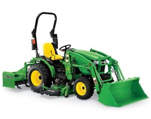 John Deere 2025R Compact Utility Tractor