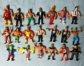 Wwf wrestling figures originals from 1980s