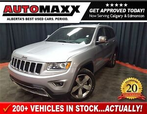 2015 Jeep Grand Cherokee Limited w/Leather/Sunroof!