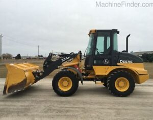 2016 John Deere 324K Wheel Loader