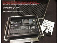 Tascam DP-24SD Portastudio & Flight Case (DNJKEN from Brum! Call me!)
