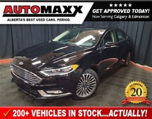 2017 Ford Fusion SE AWD w/Leather/Sunroof/Nav!