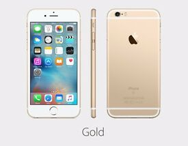 BRAND NEW Apple Iphone 6s Gold 16gb Boxed With Accessories - Come In & Buy In Confidence!