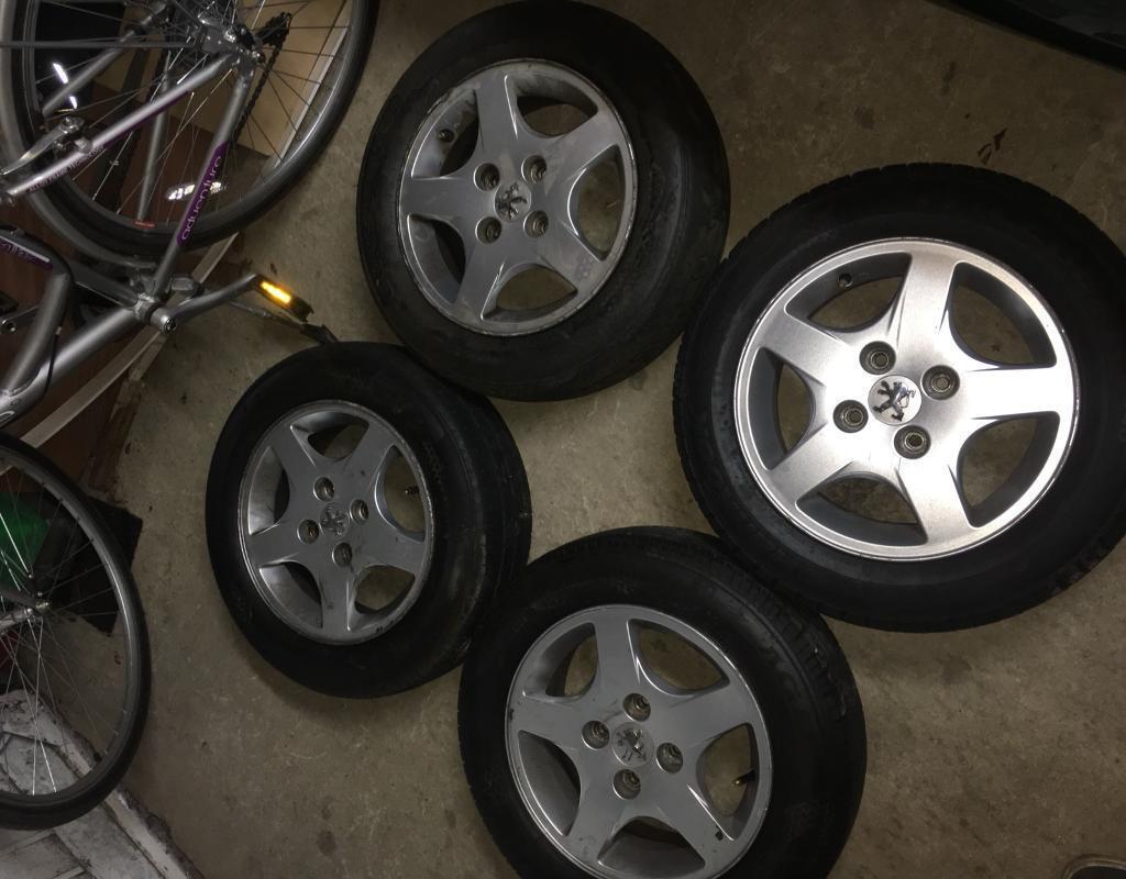 "Peugeot 206 14"" alloys"