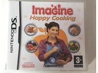 "Nintendo DS ""Imagine Happy Cooking"" game"