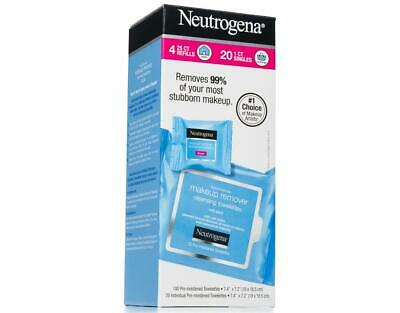 40 Singles Neutrogena Makeup Remover Cleansing Towelettes, I
