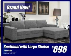 Large Comfortable Sectional-Limited Stock Left