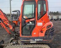 2007 KUBOTA KX91-3 Excavator