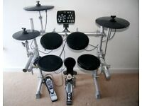 Korg HXM HD 006 Electric Drum Kit with 184 Amazing Dynamic Sounds. Alesis , Roland , Yamaha , Traps.