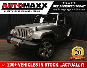 2016 Jeep WRANGLER UNLIMITED Sahara! w/Navigation!