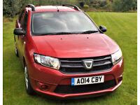 Dacia Logan 0.9 TCe Ambiance 5dr Estate, with only 13,800 miles only £5500.00 ovvno