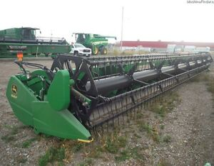 2009 John Deere 635F Flex Head