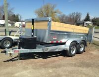 7 Ton DuraTrail Dump Trailer - Galvanized, Built to Last