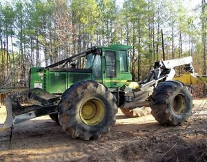 Financing for Skidders and Log Loaders